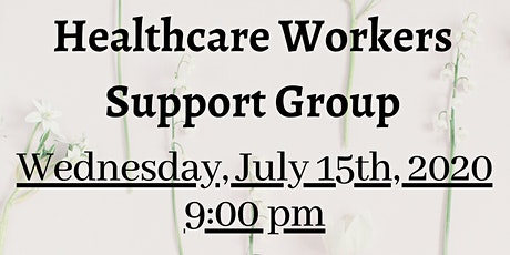 Healthcare Workers Support Group tickets