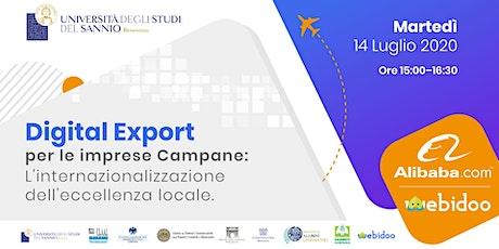 Digital Export per le imprese Campane biglietti