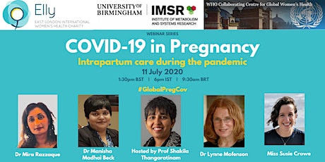 COVID-19 in Pregnancy: Intrapartum Care during the COVID-19 pandemic tickets