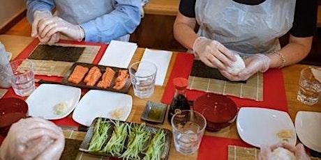 Love Lunch - Wawa Online Sushi Class tickets