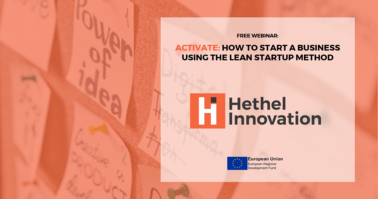 Start a Business Using the Lean Startup Method – Webinar