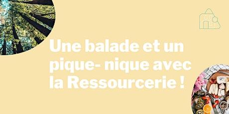 Une balade et  un pique-nique avec la Ressourcerie ! billets