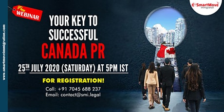 "Interactive FREE Webinar  - ""Your Key to Successful Canada PR"". tickets"