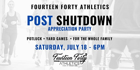 Post Shutdown Appreciation Party tickets