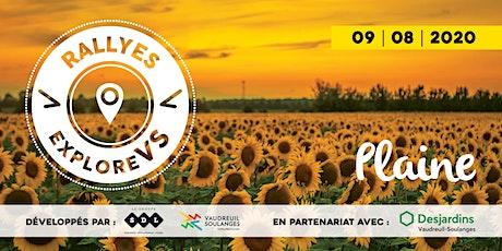 Rallye Plaine | Vaudreuil-Soulanges billets