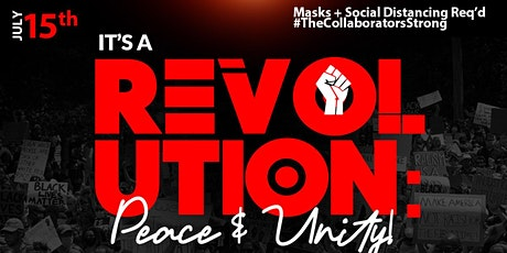 It's A Revolution: Peace & Unity tickets