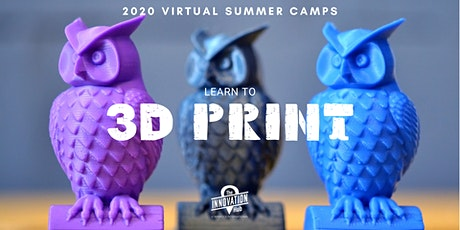 Learn to 3D Print (Ages 10-14) tickets