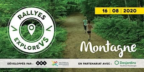 Rallye Montagne | Vaudreuil-Soulanges billets