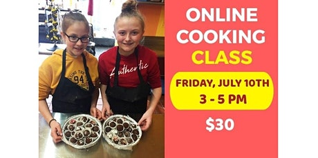 Online Cooking Class Ages 6-14 (07-10-2020 starts at 3:00 PM) entradas