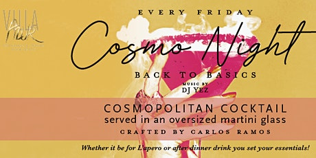 Cosmo Night tickets