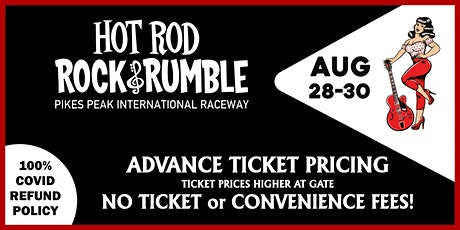 HOT ROD ROCK & RUMBLE 2020 - COLORADO tickets