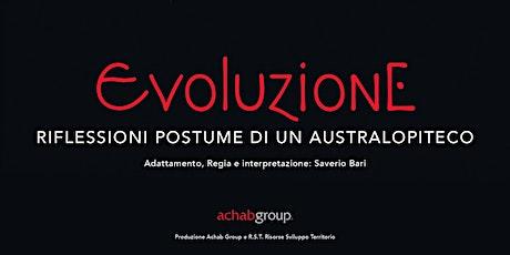 Evoluzione - Cicloteatro - FuoriLuogo2020 biglietti
