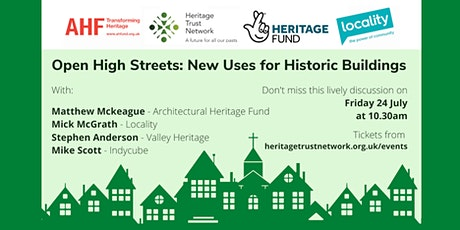 Open High Streets: New Uses For Historic Buildings tickets