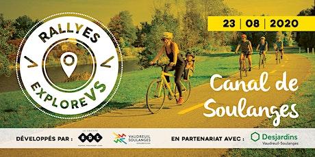 Rallye Canal de Soulanges | Vaudreuil-Soulanges billets