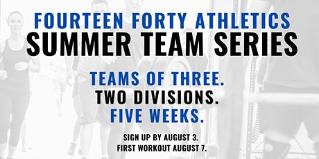 Summer Team Series tickets