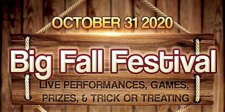 The Big Fall Festival tickets
