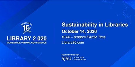Library 2.020: Sustainability in Libraries tickets