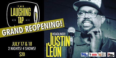 Justin Leon at The Laughing Tap! tickets