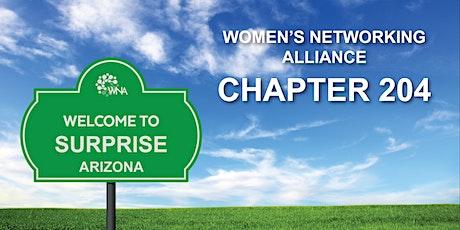 Women's Networking Alliance Ch. 204 Meeting (Surprise, AZ) tickets