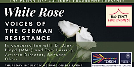 Live Event: White Rose - Voices of the German Resistance tickets