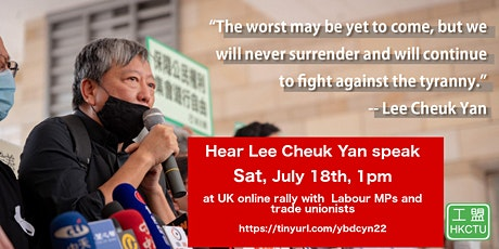 Defend the right to protest and organise in Hong Kong tickets