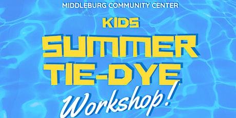 Kids Summer Tie-Dye Workshop tickets