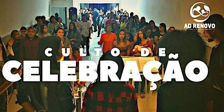 Culto de Celebração - Noite ingressos