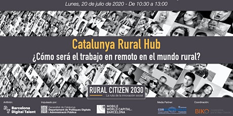 Jornada RURAL CITIZEN 2030 - CATALUNYA entradas