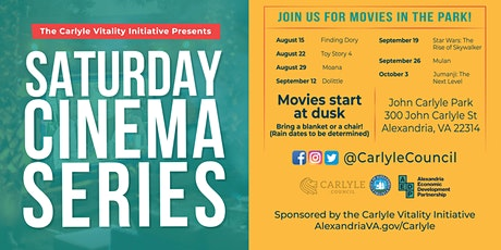 Saturday Cinema Series in Alexandria, VA tickets