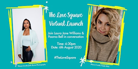 Laura Jane Williams - Virtual Launch for The Love Square tickets