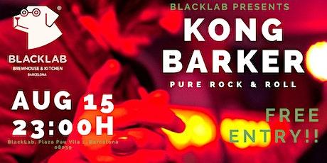 Kong Barker - Live@BlackLab tickets