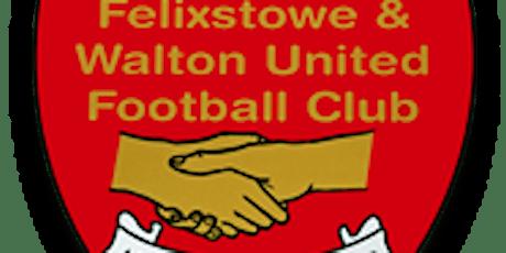 Bar Admission- Felixstowe & Walton United FC- Saturday 18th July tickets