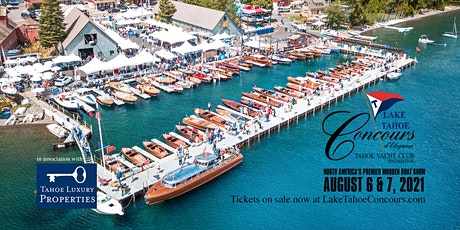 48th Annual Lake Tahoe Concours d'Elegance Boat Registration 2021 tickets