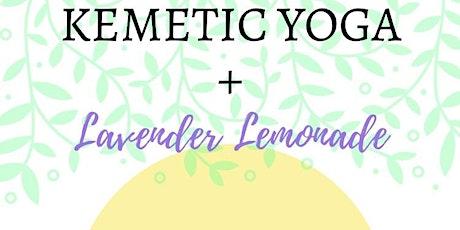 Kemetic Yoga & Lavender Lemonade tickets