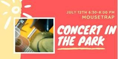 Concerts in the Park Series Phase 2 tickets