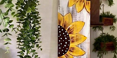 Patio Paint Night - Sunflower House Number Sign tickets