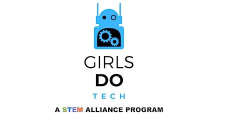 Girls DO Tech: Website Design billets
