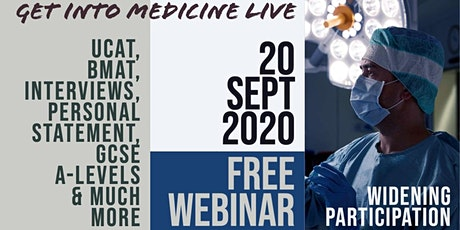 How To Get Into Medicine Live 2020 | Conference for Students in the UK tickets