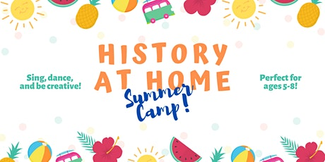 History at Home Summer Camp tickets