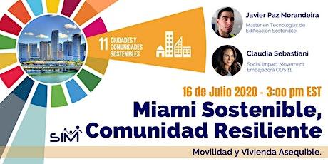 ODS11:  Ciudades y Comunidades Sostenibles entradas