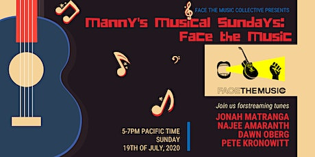Manny's Musical Sundays: Face the Music Collective tickets