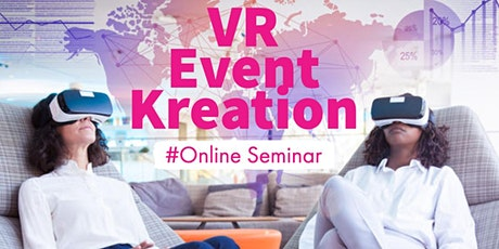 First Steps im Virtual Reality Event Management Tickets