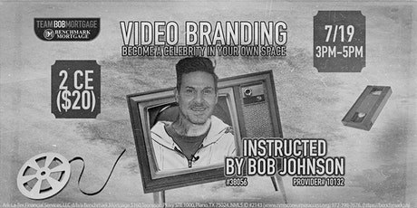 Video Branding-CE Course/ZOOM tickets