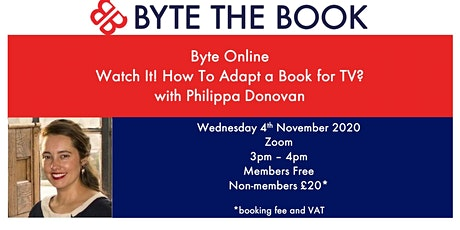 Watch It! How Do You Adapt A Book for TV? tickets