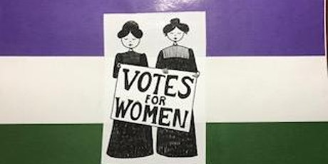 Virtual Women's Right to Vote  Program with Live Zoom Q&A and Crafts tickets
