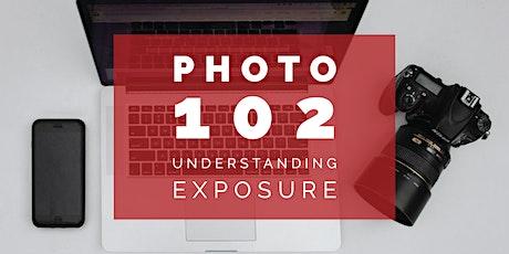 Photography 102 - Understanding Exposure tickets