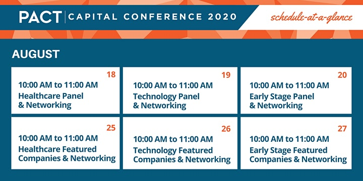 The PACT Capital Conference 2020 Series image