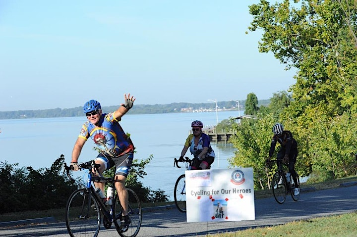 Cycling for Perry Point Fisher House, Chuck de Melker Legacy Ride image