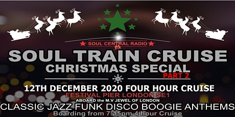 Soul Train Cruise (Christmas Special PT 2)12  December  2020 tickets