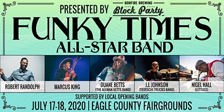 Funky Times All-Star Band tickets